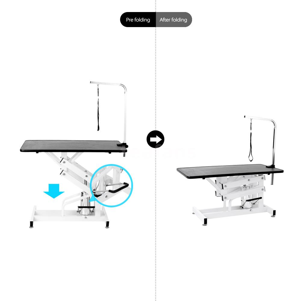 Hydraulic 36 Dog Lift : Quot hydraulic z lift grooming table pet dog groom