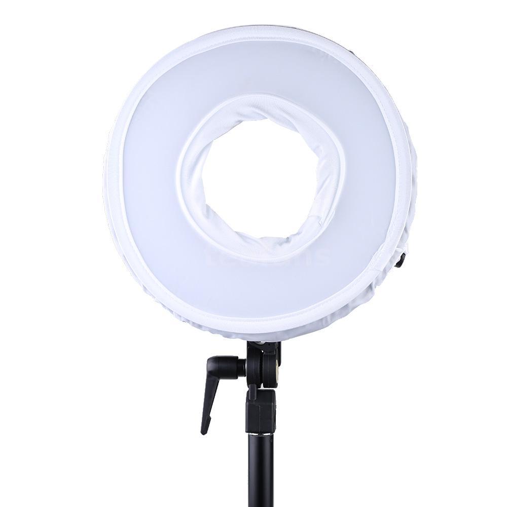 Led Ring Light Studio: LED Ring Light Photo/Video Studio Continuous Lighting Warm