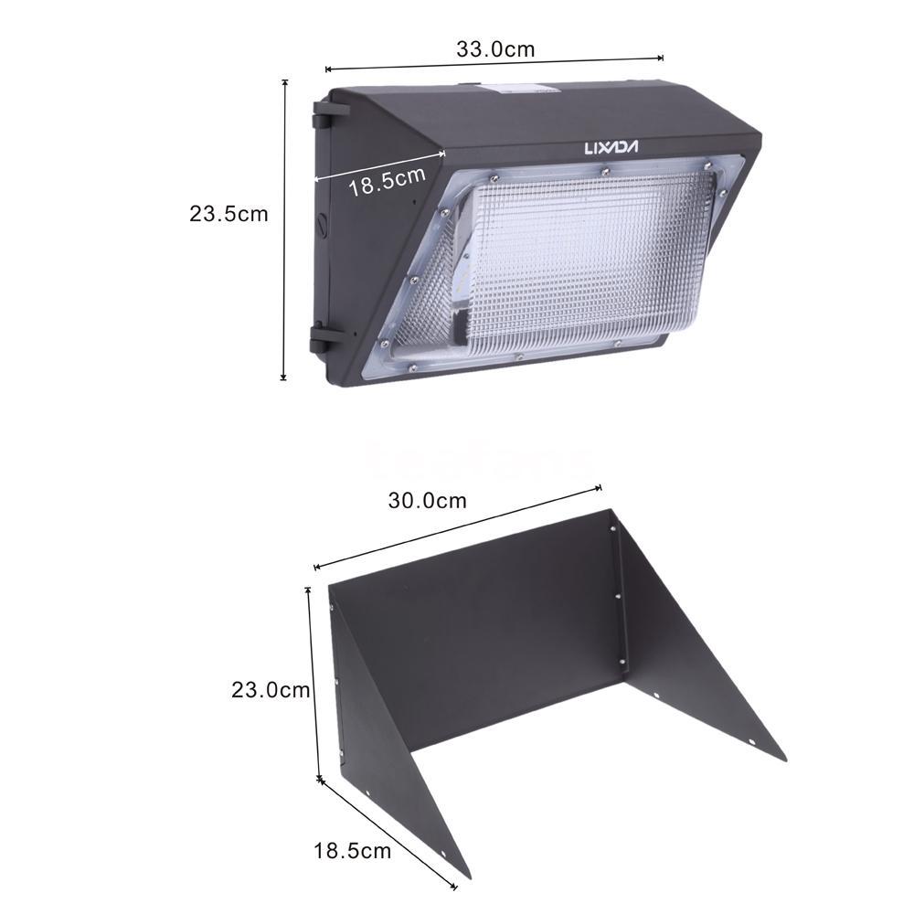 Hyperselect Led 100w Wall Pack Light: Lixada 60/75/100W LED Wall Pack Light High Brightness