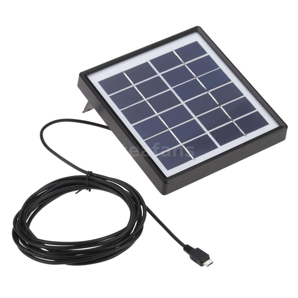 6v 1 8w Outdoor Waterproof Solar Panel Charger Camping